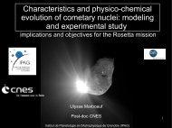 Présentation PDF - Institut de Planétologie et d'Astrophysique de ...