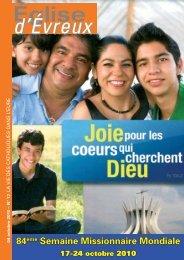 EE 17-2010.indd - Diocèse d'Evreux