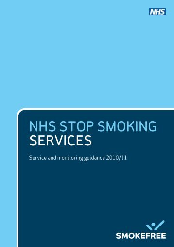 NHS Stop Smoking Services - Halton and St Helens PCT