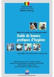 Guide de bonnes pratiques d'hygiène au Sénégal - REPOL