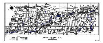 Street Map of Montclair