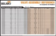 VALVE ASSEMBLY REFERENCE - Industrial Controls