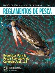 Requisitos Para la Pesca Recreativa de Cangrejo Azul....18