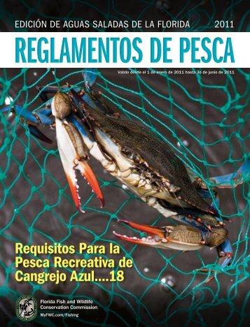 Requisitos Para la Pesca Recreativa de Cangrejo Azul....18