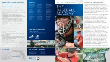 THE BASEBALL ACADEMY - IMG Academy