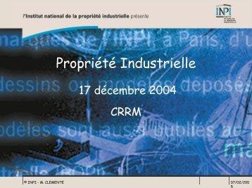 Publication de la demande - CRRM à