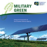 Military Green leaflet - European Defence Agency