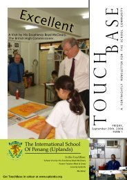 Excellent - The International School Of Penang