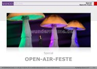 Special Open-Air-Feste - Wunderräume