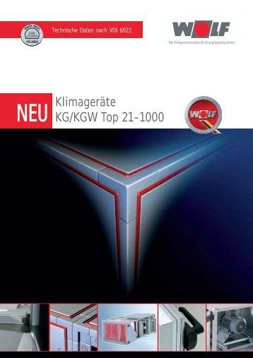Klimageräte KG/KGW Top 21-1000