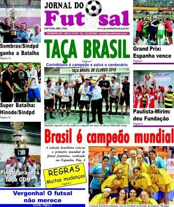 REGRAS - Jornal do Futsal