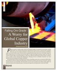 A Worry for Global Copper Industry - Metalworld.co.in