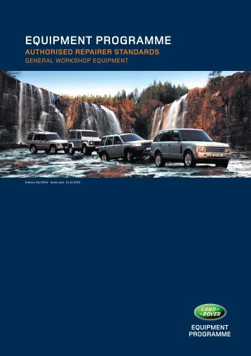 FOR LAND ROVER AUTHORISED REPAIRERS