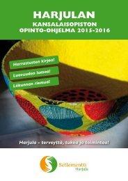 Opinto-ohjelma 2015-2016