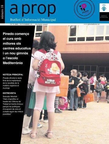 Butlletí d'Informació Municipal - Ajuntament de Pineda de Mar
