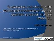 AECOM PowerPoint Template - Ville de Longueuil