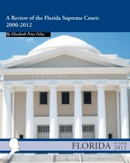 A Review of the Florida Supreme Court - Naked Politics - Typepad
