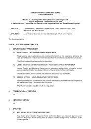 Minutes of the Shirley/Papanui Community Board 1 September 2010
