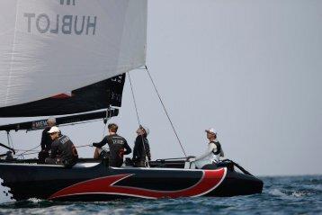 Hublot alongside Alinghi in flying the Swiss colours on ... - Westime