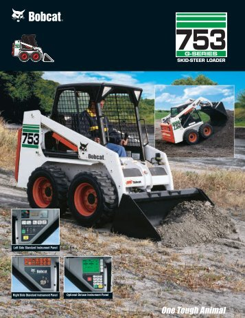 753 G-Series Skid-Steer Loader - Tools & Equipment   Rentals
