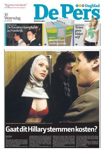 de-pers-woensdag-30-januari-2008 - Parijs en meer…