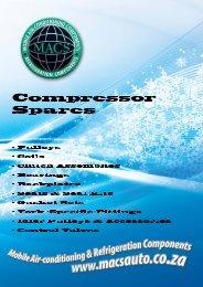 Compressor Spares - MACS