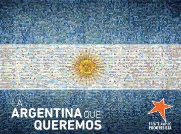LA ARGENTINA QUE QUEREMOS