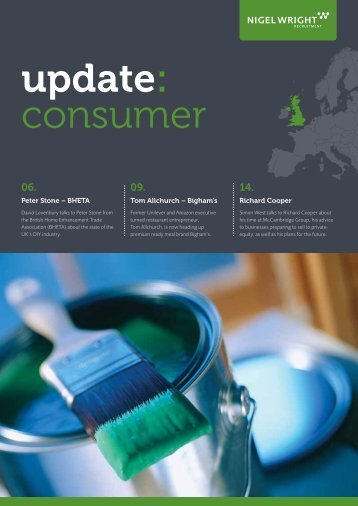 to download our latest UK Consumer market update. - Nigel Wright