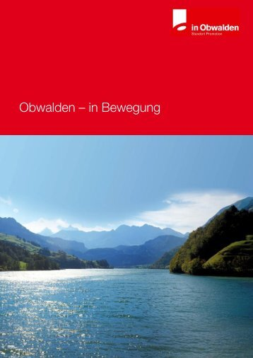 Obwalden – in Bewegung - Alpenresort Stockenmatt