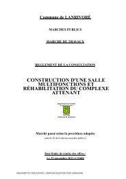 REGLEMENT CONSULTATION-2 - Commune de Lanrivoaré