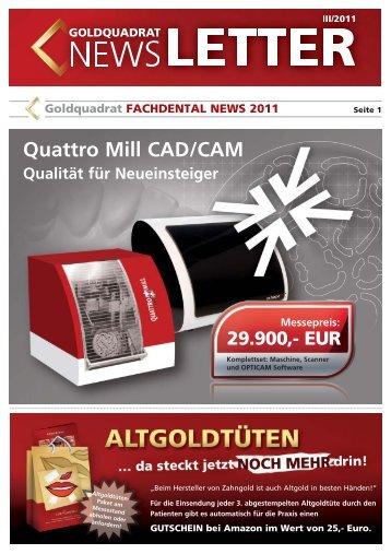 EUR - Goldquadrat