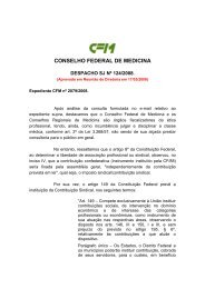 Despacho SJ nº 124/2008 - Conselho Federal de Medicina