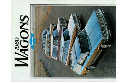 1980 Chevrolet Wagons Brochure