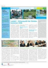 Ausgabe Nr. 9 - Juni 2006 - Zukunft Alpenrhein