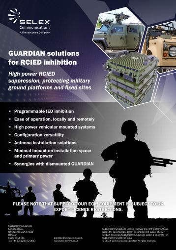 GUARDIAN solutions for RCIED inhibition