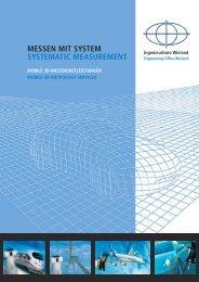 MESSEN MIT SYSTEM SYSTEMATIC MEASUREMENT