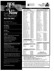 Call Now To Register! - Fairleigh Dickinson University