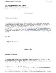 E-Newsletter Sept 3, 2012 (Title I requirement - Bullitt County Public ...