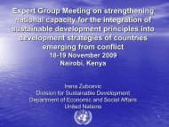 Irena Zubcevic - United Nations Sustainable Development