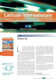 Latitude Internationale n°30 - CIC