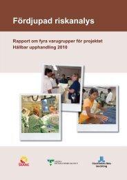 Riskanalys fyra varugrupper för Hållbar Upphandling ... - Swedwatch