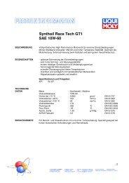 1390 Synthoil Race Tech GT1 SAE 10W-60