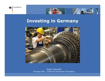 Investing in Germany - NGCCI