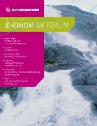 Okoforum nr 1-07 - Samfunnsøkonomene
