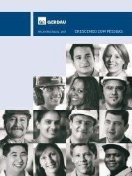 GERDAU RELATÓRIO ANUAL 2007