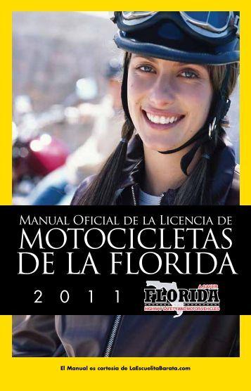 2011 Manual de Motocicletas de la Florida Información de - Edocs