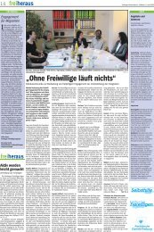 freiheraus Nr. 7, April 2005 [PDF-Datei / 304 KB] - Text & Co.