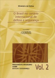 o brasil diante dos desafios internacionais de segurança