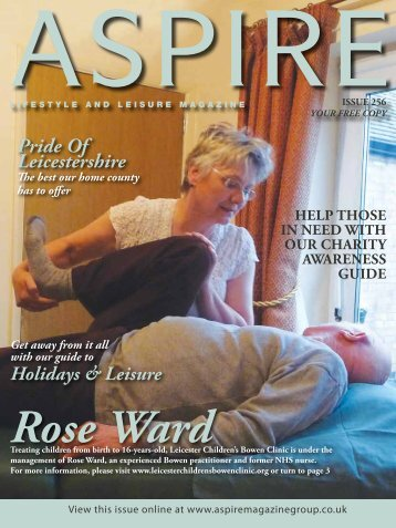 Rose Ward - Aspire Magazine