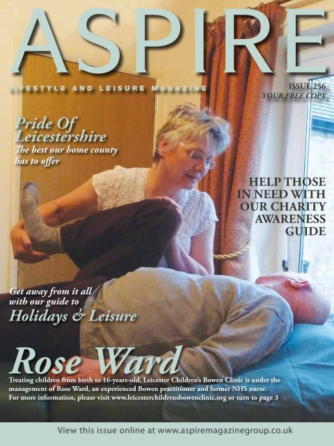 Rose Ward - Aspire Magazine